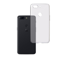 3mk Clear Case do OnePlus 5T (5903108046633)