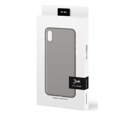 3mk Natural Case do iPhone X/Xs czarny (5901571146867)