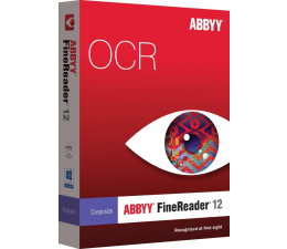 ABBYY FineReader 12 Corporate Edition OCR BOX  (4820076590702)