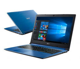 Acer Aspire 3 i3-8130U/8GB/256/Win10 FHD Niebieski (A315-53-38DT || NX.H4PEP.001)