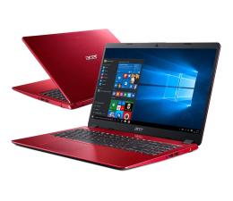 Acer Aspire 5 i3-8145U/8GB/480/Win10 IPS Czerwony (A515-52-39SM || NX.H5AEP.003-480SSD M.2 PCIe)