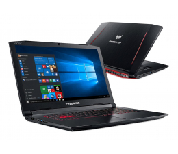 Acer Helios 300 i7-7700HQ/16GB/240+1000/Win10 GTX1050Ti (Predator || NH.Q2MEP.003-240SSD M.2 )