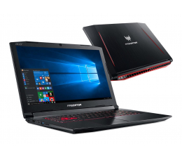 Acer Helios 300 i7-8750H/16GB/1000/Win10 GTX1060  (Predator || PH317-52 || NH.Q3DEP.005 )