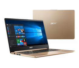 Acer Swift 1 N5000/4GB/240/Win10 IPS FHD złoty (SF114-32 || NX.GXREP.002-240SSD)