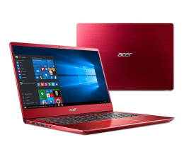 Acer Swift 3 i3-8130U/8GB/256/Win10 IPS FHD Czerwony (SF314 || NX.GZXEP.001-256SSD)