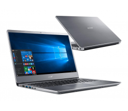 Acer Swift 3 i3-8130U/8GB/480+1TB/Win10 (SF314-54 || NX.H1SEP.001-480SSD M.2)