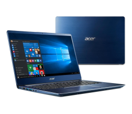 Acer Swift 3 i3-8145U/8GB/256/Win10 FHD IPS Niebieski (SF314-56-39LS || NX.H4EEP.003)