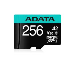 ADATA 256GB Premier Pro U3 V30S A2 + adapter  (AUSDX256GUI3V30SA2-RA1)