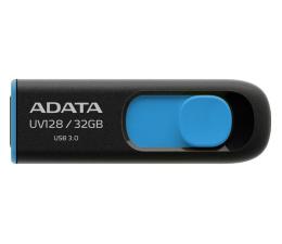 ADATA 32GB DashDrive UV128 czarno-niebieski (USB 3.1) (AUV128-32G-RBE)