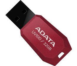 ADATA 32GB DashDrive Value UV100 czerwony (AUV100-32G-RRD)