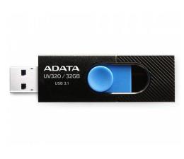 ADATA 32GB UV320 czarno-niebieski  (AUV320-32G-RBKBL)