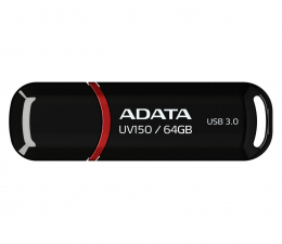 ADATA 64GB DashDrive UV150 czarny (USB 3.1) (AUV150-64G-RBK )