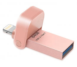 ADATA 64GB i-Memory AI920 rose gold (USB 3.1+Lightning) (AAI920-64G-CRG)