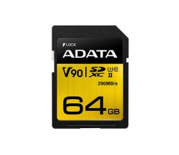 ADATA 64GB Premier ONE 290MB/s C10 UHS-II U3 (ASDX64GUII3CL10-C)