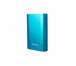 ADATA Power Bank 10050 mAh niebieski z quickcharge (AA10050QC-USBC-5V-CBL)
