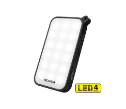 ADATA Power Bank D8000 2.1A LED (czarny) (AD8000L-5V-CBK)