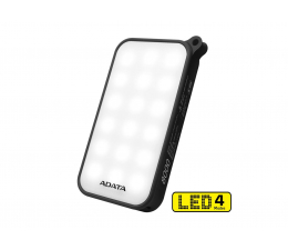 ADATA Power Bank D8000 2.1A LED czarny (AD8000L-5V-CBK)