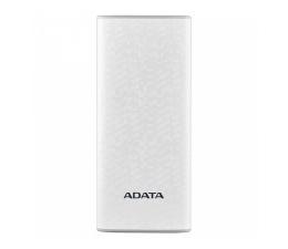 ADATA Power Bank P10000 10000 mAh 2.1A Biały (AP10000-DUSB-CWH)
