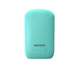 ADATA Power Bank P10050 10050 mAh 2.1 A turkusowy (AP10050-DUSB-5V-CGN)