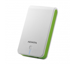 ADATA Power Bank P16750 16750 mAh 2.1A(biało-zielony) (AP16750-5V-CWHGN)