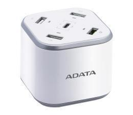 ADATA Stacja Ładująca 2,4A/3A 48W Quick Charge biały (CU0480QC)
