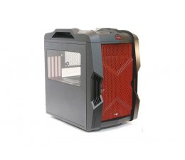 AeroCool STRIKE-X CUBE czerwona USB 3.0 (AEROSTRIKE-XCUBE-RED)