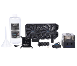 Alphacool Eissturm Gaming Copper 30 2x120mm - complete kit (1014157)