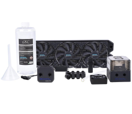 Alphacool Eissturm Gaming Copper 30 3x120mm - complete kit (1014159)