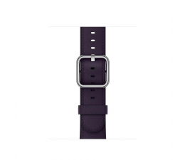 Apple 38mm Classic Buckle Dark Aubergine (MQV12ZM/A)