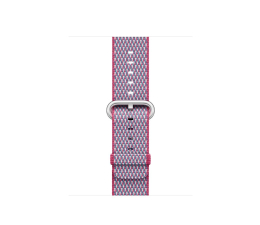 Apple 38mm Woven Nylon Berry Check (MQVD2ZM/A)