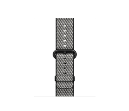 Apple 38mm Woven Nylon Black Check  (MQV92ZM/A)