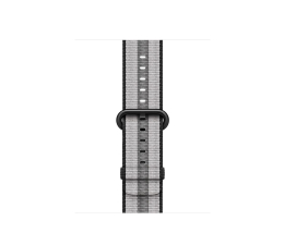 Apple 38mm Woven Nylon Black Stripe (MQVG2ZM/A)