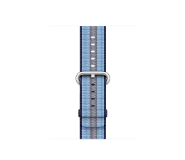 Apple 38mm Woven Nylon Midnight Blue Stripe (MQVJ2ZM/A)