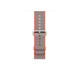 Apple 38mm Woven Nylon Spicy Orange Check (MQVE2ZM/A)