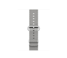 Apple 38mm Woven Nylon White Check (MQVA2ZM/A)