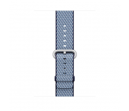 Apple 42mm Woven Nylon Midnight Blue Check (MQVM2ZM/A)