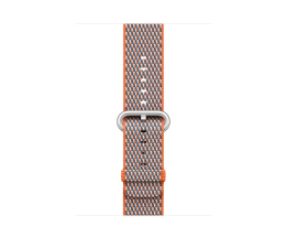 Apple 42mm Woven Nylon Spicy Orange Check (MQVP2ZM/A)