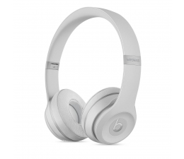 Apple Beats Solo3 Wireless On-Ear matowy srebrny (MR3T2EE/A)