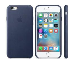Apple iPhone 6s Leather Case niebieski (MKXU2ZM/A)