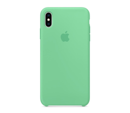 Apple iPhone XS max Silicone miętowe (MVF82ZM/A)