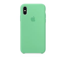 Apple iPhone XS Silicone miętowe (MVF52ZM/A)