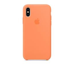 Apple iPhone XS Silicone pomarańczowe  (MVF22ZM/A)