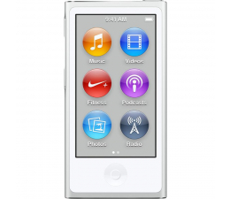 Apple iPod nano 16GB - Silver (MKN22PL/A)