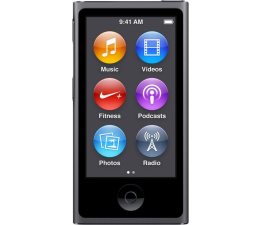 Apple iPod nano 16GB - Space Gray (MKN52PL/A)