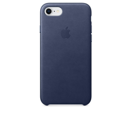 Apple Leather Case do iPhone 7/8 Midnight Blue (MQH82ZM/A)