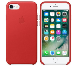 Apple Leather Case do iPhone 7/8 Red (MMY62ZM/A)