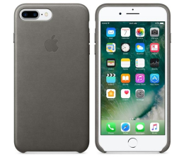 Apple Leather Case iPhone 7/8 Plus Storm Gray (MMYE2ZM/A)