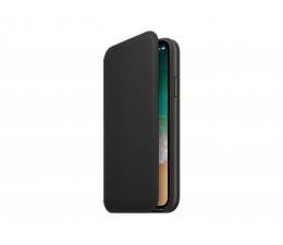 Apple Leather Folio do iPhone X Black (MQRV2ZM/A)