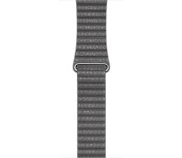 Apple Loop Skórzany do Apple Watch 42mm szary M (MMAQ2ZM/A)
