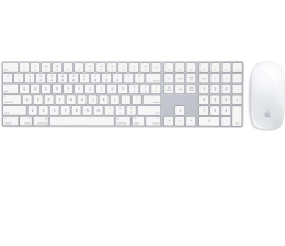 Apple Magic Keyboard z Polem Numerycznym + Magic Mouse 2 (MQ052Z/A+MLA02ZM/A)